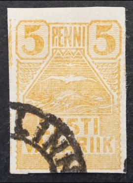 Estija, MiNr 5 Used (O)