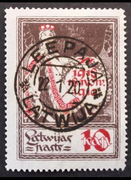 Latvija, MiNr 32 Used (O)