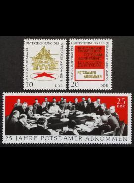 Vokietijos Demokratinė Respublika (VDR), pilna serija, MiNr 1598-1600 MNH**