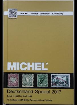MICHEL 1849-1945 m. Vokietijos specializuotas pašto ženklų katalogas (47-asis leidimas)