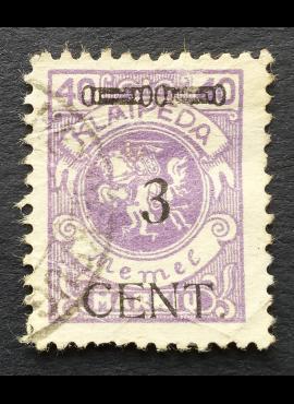 Klaipėda (Memel), MiNr 178II Used (O)