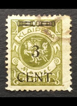 Klaipėda (Memel), MiNr 179II Used (O)