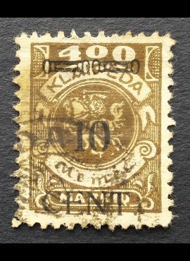 Klaipėda (Memel), abartas, MiNr 181I Used (O)