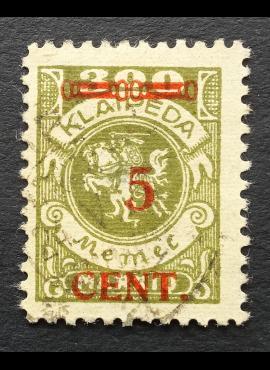 Klaipėda (Memel), MiNr 174I Used (O)