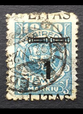 Klaipėda (Memel), MiNr 192 Used (O)