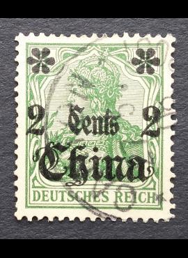 Vokietijos Reichas, Užsienio ir kolonijų paštas, Kinija MiNr 29 Used (O)