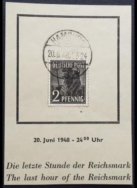 Pokario Vokietija, Sąjungininkų zona, MiNr 943 Used (O)