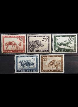 Austrija, pilna serija, MiNr 785-789 MNH**