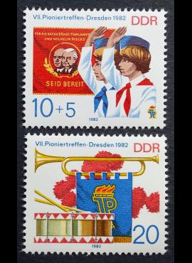 Vokietijos Demokratinė Respublika (VDR), pilna serija, MiNr 2724-2725 MNH**