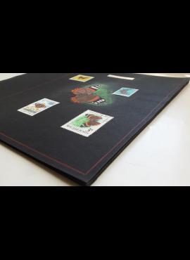 Drugiai - ženklų kolekcija ant albumo lapų MH*/Used (O)/MNH**