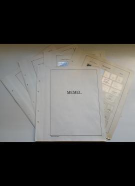 Memel, iliustruoti albumo lapai KA-BE