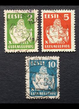 Estija, pilna serija, MiNr 99-101 Used (O)