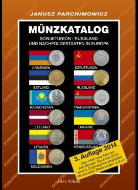 Rusijos / Sovietų Sąjungos ir Posovietinių Respublikų 1921-2013 m. monetų katalogas 5097-2014