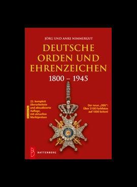 Vokietijos ordinai ir apdovanojimai 1800-1945 m. 5410-2019