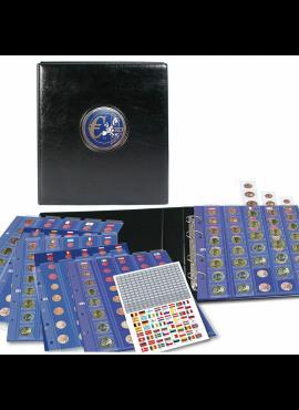 Albumas euro monetų rinkiniams (Setams) su įmautėmis SAFE Premium 7340