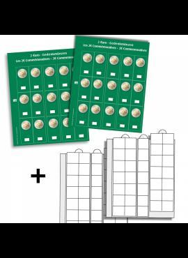 Albumo lapai 2 eurų monetoms SAFE Premium 7393S