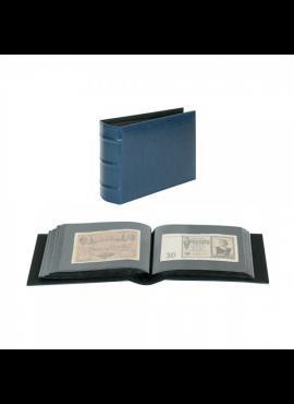 LINDNER Firmo mėlynas, universalus albumas banknotams, vokams, nuotraukoms ar atvirlaiškiams 812-B