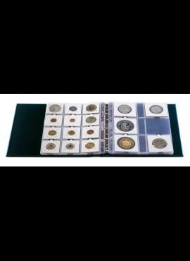 Albumas monetoms holderiuose su įmautėmis HARTBERGER Luxus