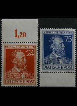 Pokario Vokietija, Sąjungininkų zona, pilna serija, MiNr 963-964 MNH**