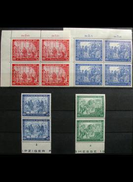 Pokario Vokietija, Sąjungininkų zona, pilnos dvi serijos, MiNr 965-966, 967-968 MNH**