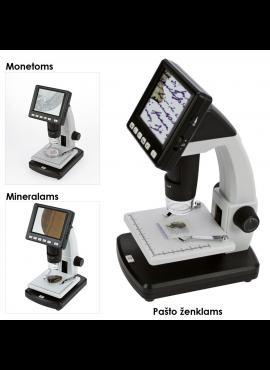 LCD skaitmeninis mikroskopas SAFE 9755