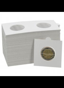 Holderiai monetoms iki 27,50 mm skersmens (2 eurai), susiklijuojantys, 50x50 mm SAFE 7828