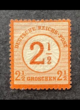 Vokietijos Reichas, MiNr 29 MLH*