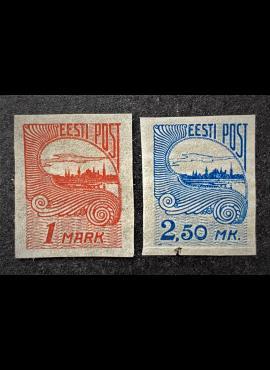 Estija, pilna serija, MiNr 27-28 MH*