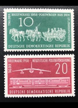 Vokietijos Demokratinė Respublika (VDR), pilna serija MiNr 660-661 MNH**