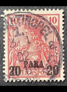 Vokietijos Reichas, Užsienio ir kolonijų paštas, Turkija MiNr 13 I Used (O)