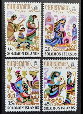 Saliamono salos, pilna serija, MiNr 342-345 MNH**