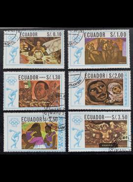 Ekvadoras, pilna serija, MiNr 1313-1318 Used (O)