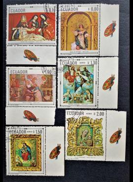 Ekvadoras, pilna serija, MiNr 1403-1408 Used (O)