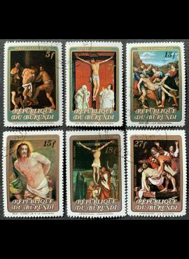 Burundis, pilna serija, MiNr 920-925 Used (O)