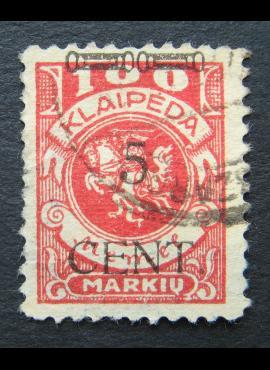 Klaipėda (Memel), MiNr 180II Used (O)