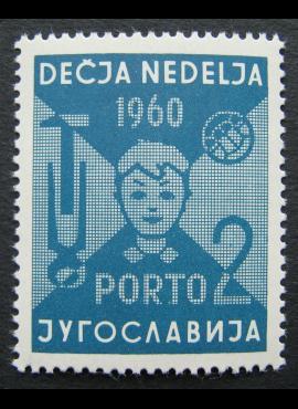 Jugoslavija, specialus privalomas ženklas, MiNr 21 MNH**