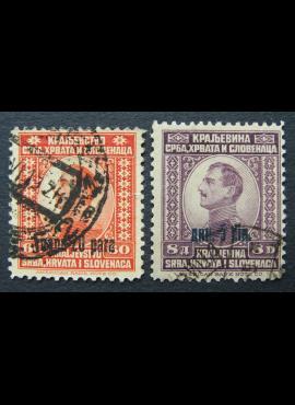 Jugoslavija (Karalystė), pilna serija, MiNr 174-175 Used (O)