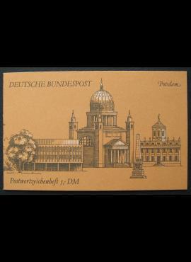 Vokietija, kišeninė knygelė Nr. 31, pilnas komplektas, MiNr 1347, 1341, 1342, 1406 MNH**