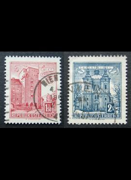 Austrija, MiNr 1047, 1049 Used (O)