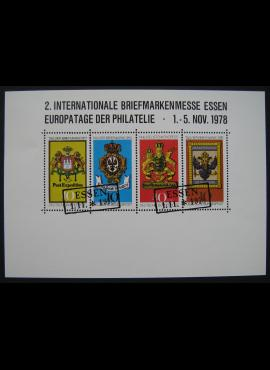 Vokietija, 1978 m. filatelijos mugės kortelė