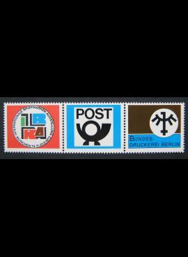 Vokietija. Proginiai Tarptautinės pašto ženklų parodos ženklai