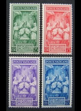 Vatikanas, pilna serija, MiNr 80-83 MNH**