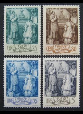Vatikanas, pilna serija, MiNr 92-95 MNH**