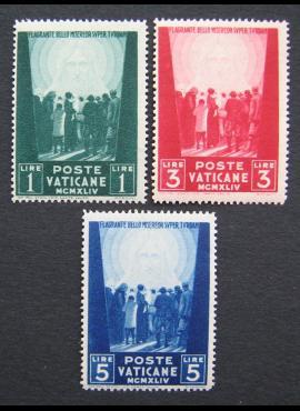 Vatikanas, pilna serija, MiNr 113-115 MNH**