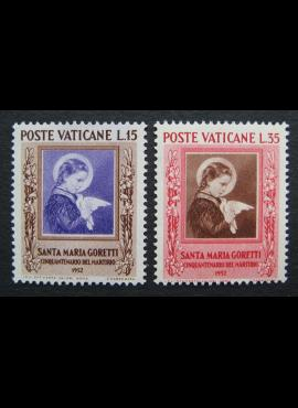 Vatikanas, pilna serija, MiNr 190-191 MNH**