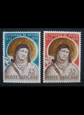 Vatikanas, pilna serija, MiNr 207-208 MNH**
