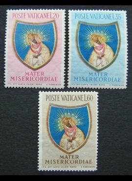 Vatikanas, pilna serija, MiNr 227-229 MNH**