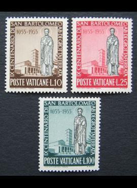 Vatikanas, pilna serija, MiNr 238-240 MNH**