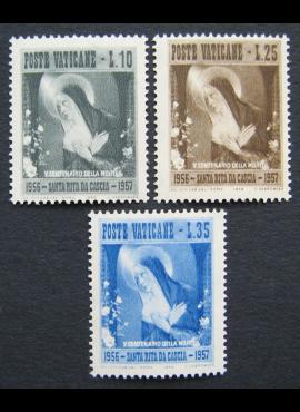 Vatikanas, pilna serija, MiNr 256-258 MNH**