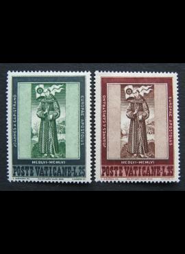Vatikanas, pilna serija, MiNr 261-262 MNH**